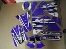 New YZ 125 250 96-01 PTS4 Graphics Sticker Decals Kit Motocross 97 98 99 00